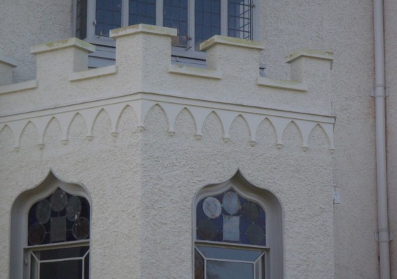 Strawberry Hill after, detail