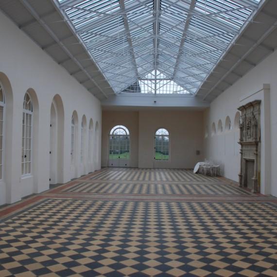Wrest Park Orangery interior after