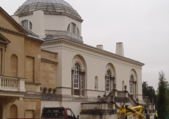Chiswick House after redecoration