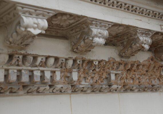 Chiswick House, detail prior to repair